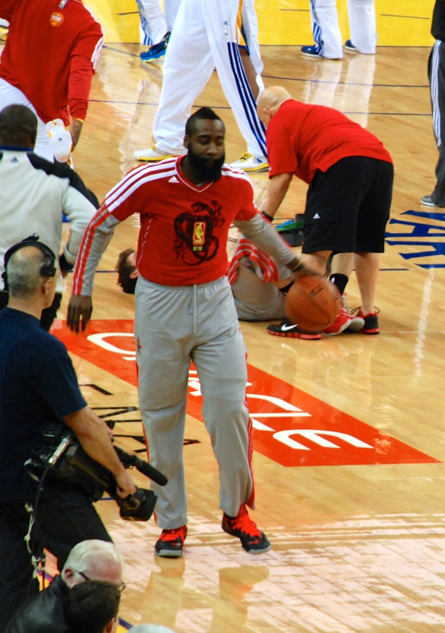 Harden the superstar