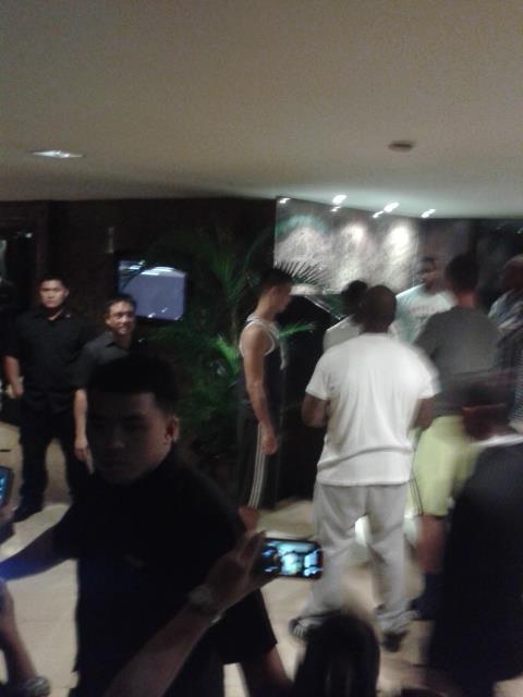 after NBA dinner